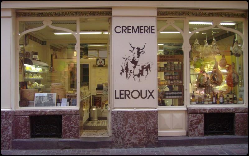 Cremerie Leroux boutique centenaire aurillac