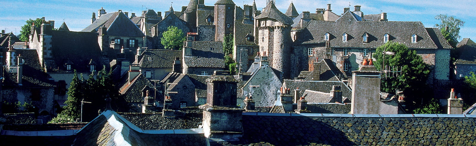 Salers village cantal
