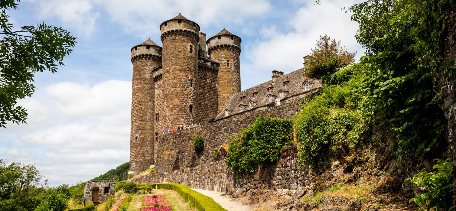 Château d'Anjony à Tournemire
