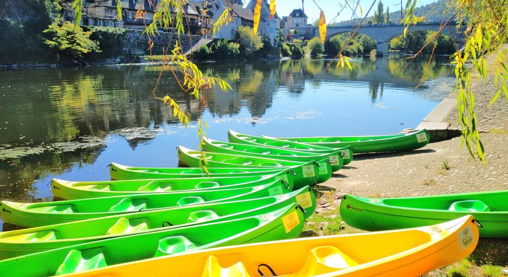 Plaisir de l'eau avec un guide - Escapade nature Pays d'Argentat