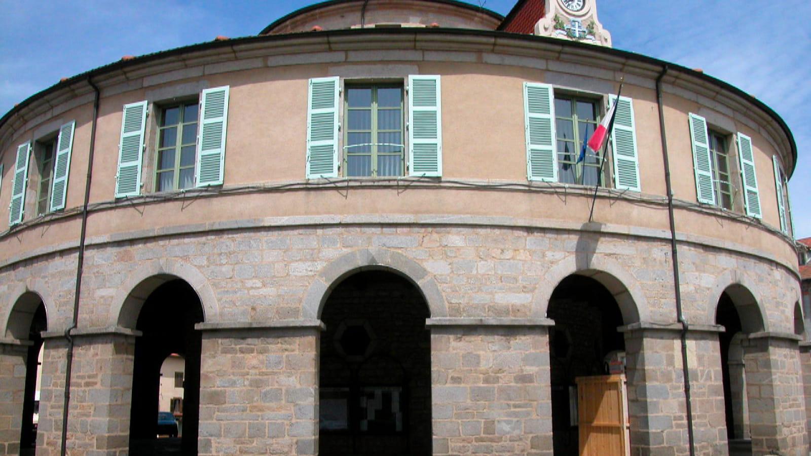 Ambert Mairie ronde