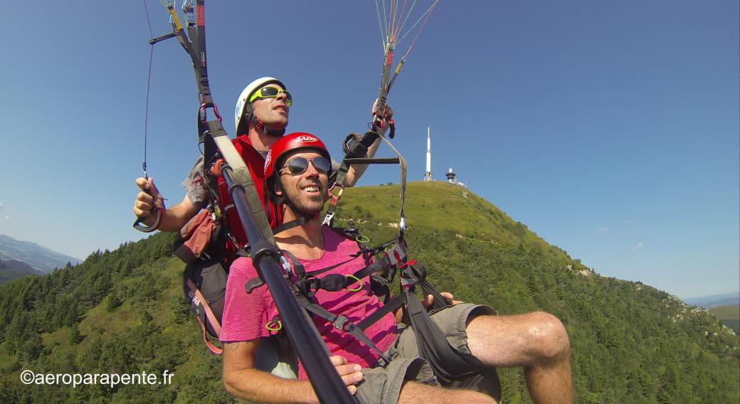 Aéroparapente vols au sommet du puy de Dôme