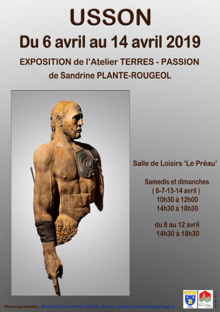 Exposition Atelier Terre Passions