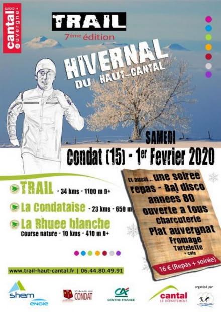 Trail hivernal du Haut-Cantal : 7e édition