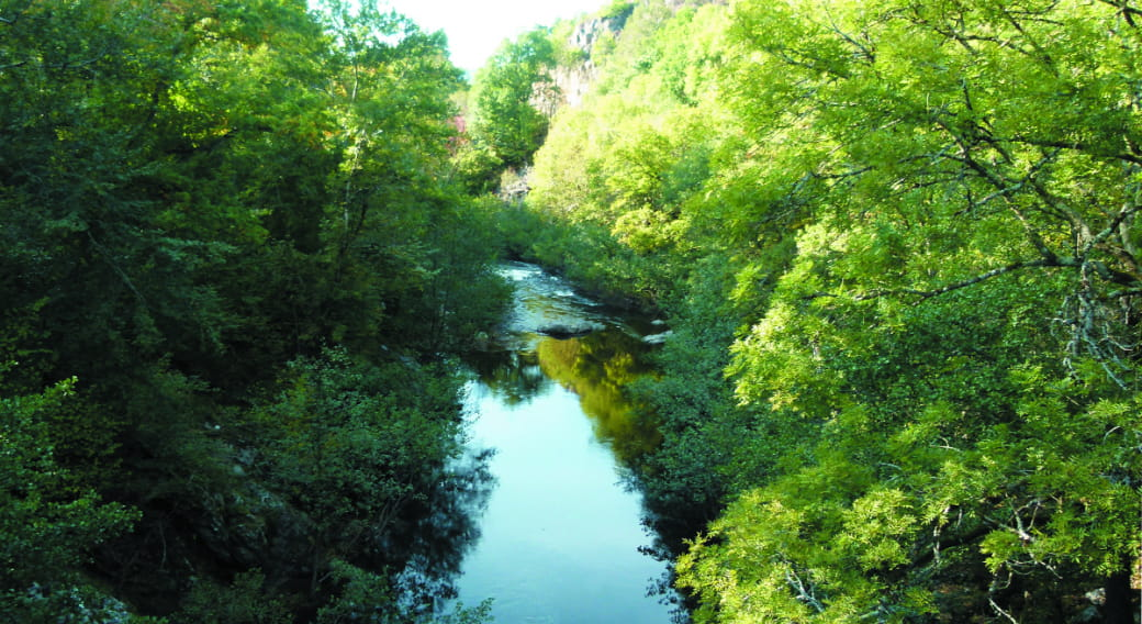 Rivière et Gorges de la Rhue