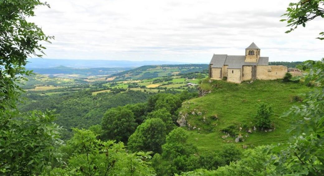 Panorama sur la vallée du Couty