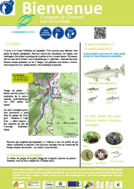 Parcours pêche passion : la Maille