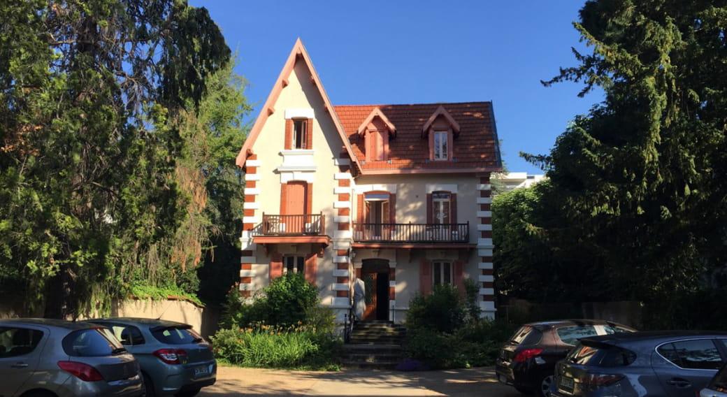 Location meublé Chalet Camille appartement façade
