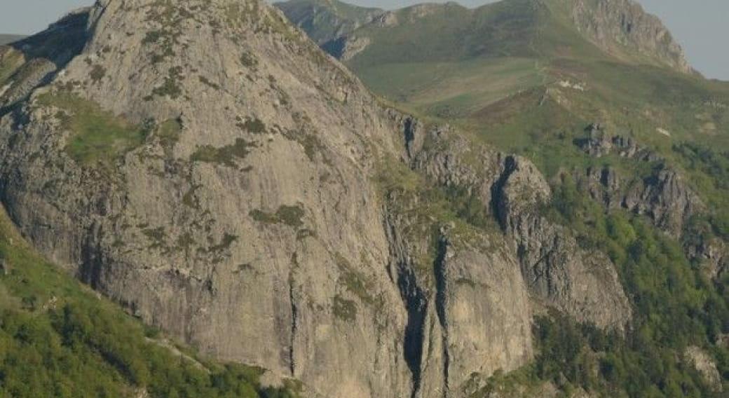Le site d'escalade du roc d'Hozières
