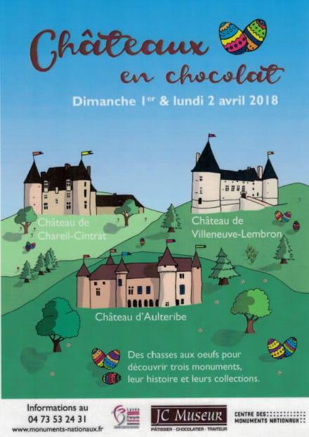 Châteaux en chocolat