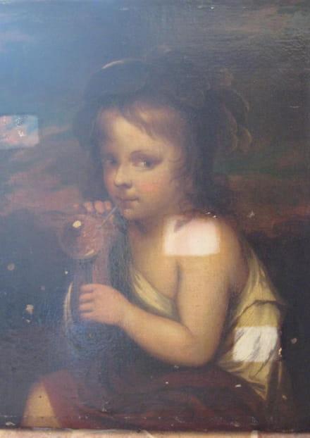 L'enfant à la bulle de savon