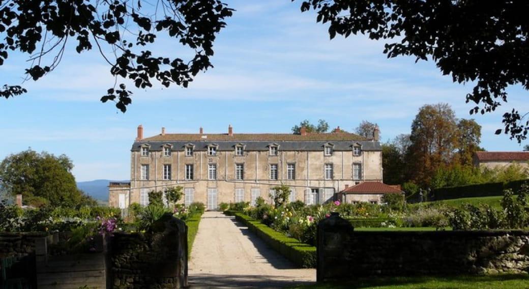 Jardins du château d'Hauterive
