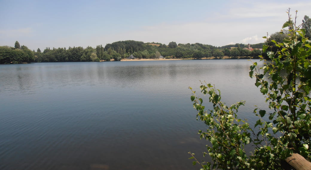 Baignade non surveillée - Plan d'Eau de Saint-Eloy-les-Mines