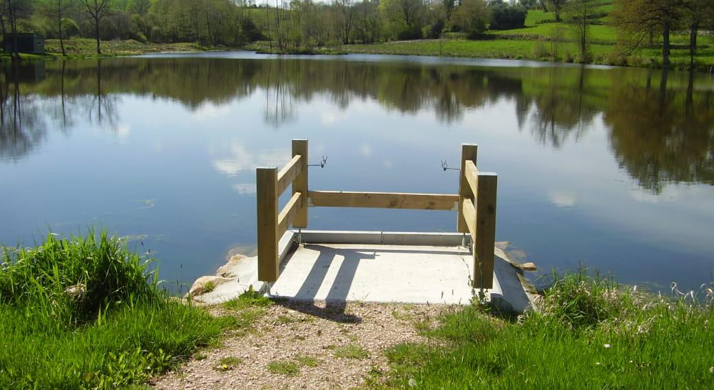 Site de pêche - Étang du Vert