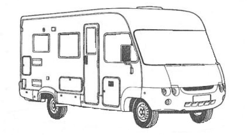 Borne services camping-car