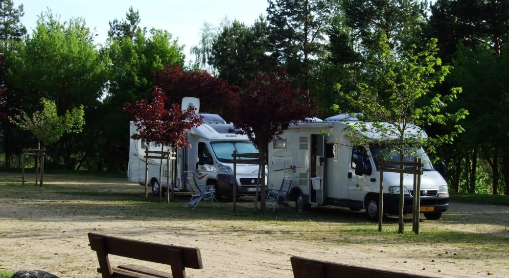 Aire de Camping cars de Ruynes en Margeride