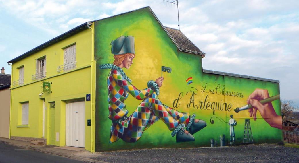 Gite Les Chaussons d'Arlequine à Dompierre sur Besbre