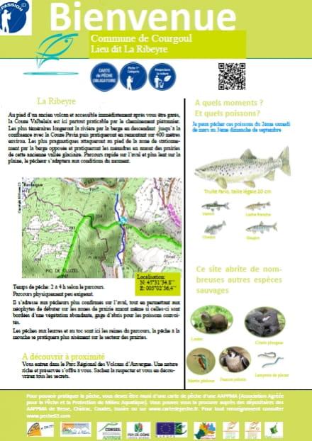 Parcours pêche passion : la Ribeyre