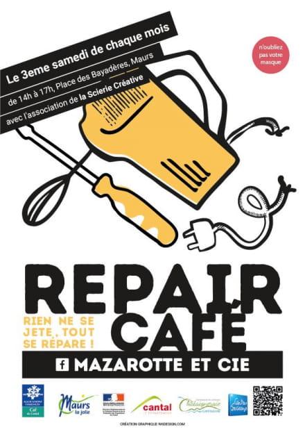 Repair café à Maurs