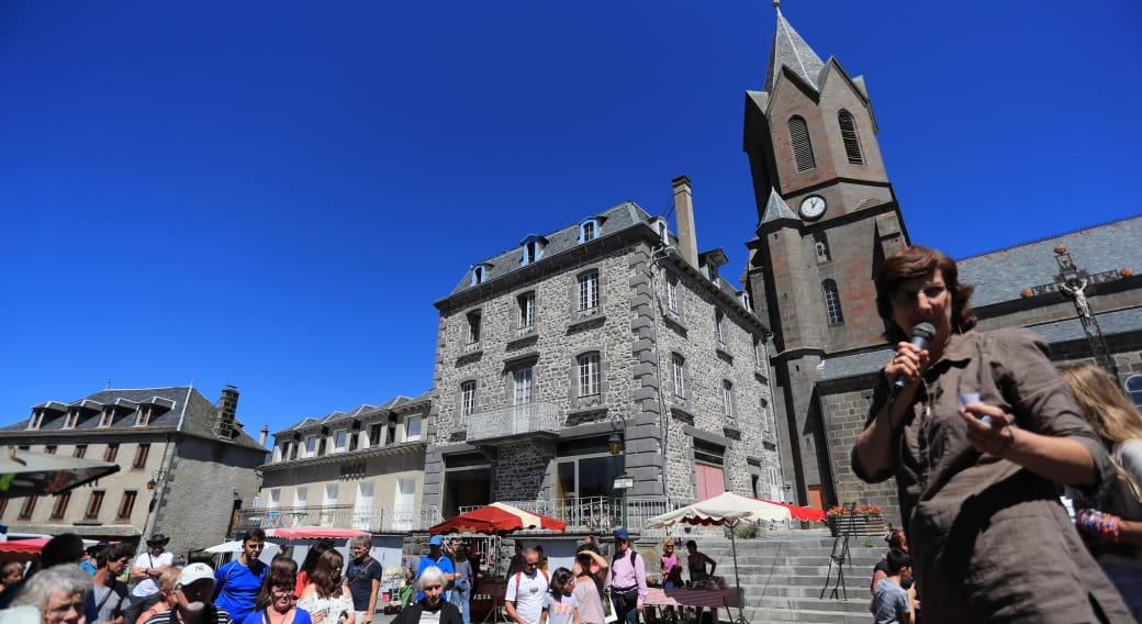 Office de tourisme des Pays de Saint-Flour - Bureau de Neuvéglise