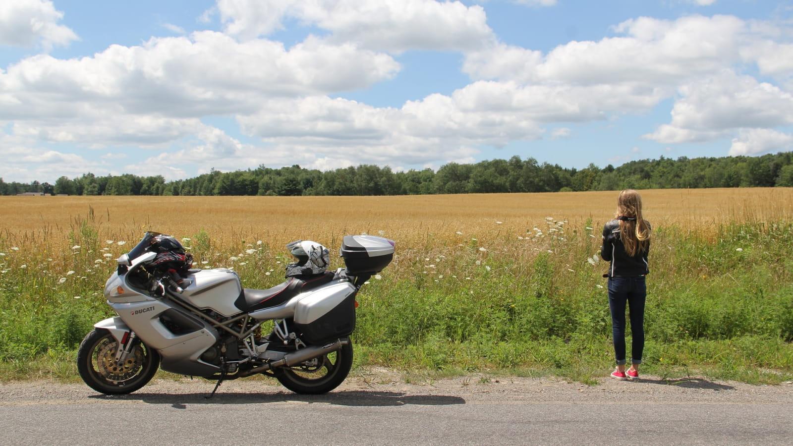Circuit Moto - Au départ de Montsalvy