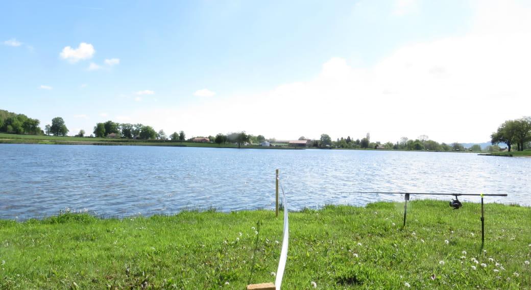 Site de pêche - Plan d'Eau de la Loge