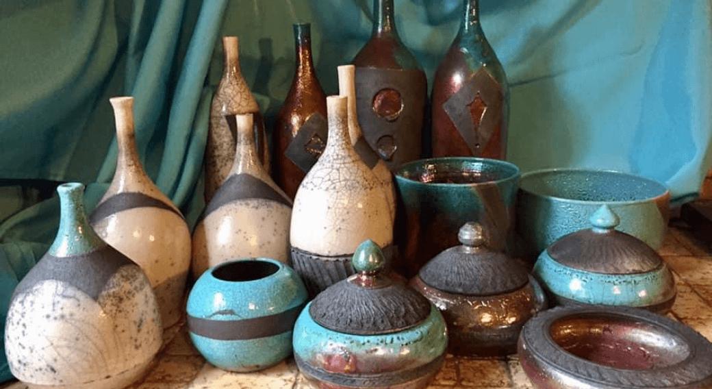 Céramiques design Raku