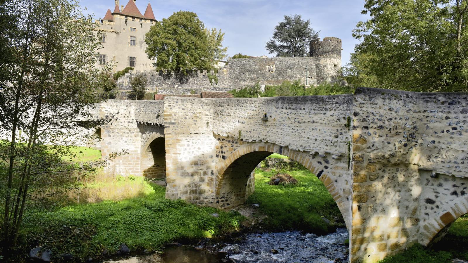 Pont de la Monne à Saint-Amant-Tallende