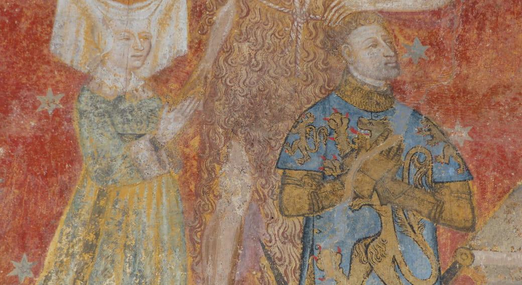 Circuit 'La peinture murale en Auvergne : Azérat, Auzon, Saint-Floret, Saint-Cerneuf