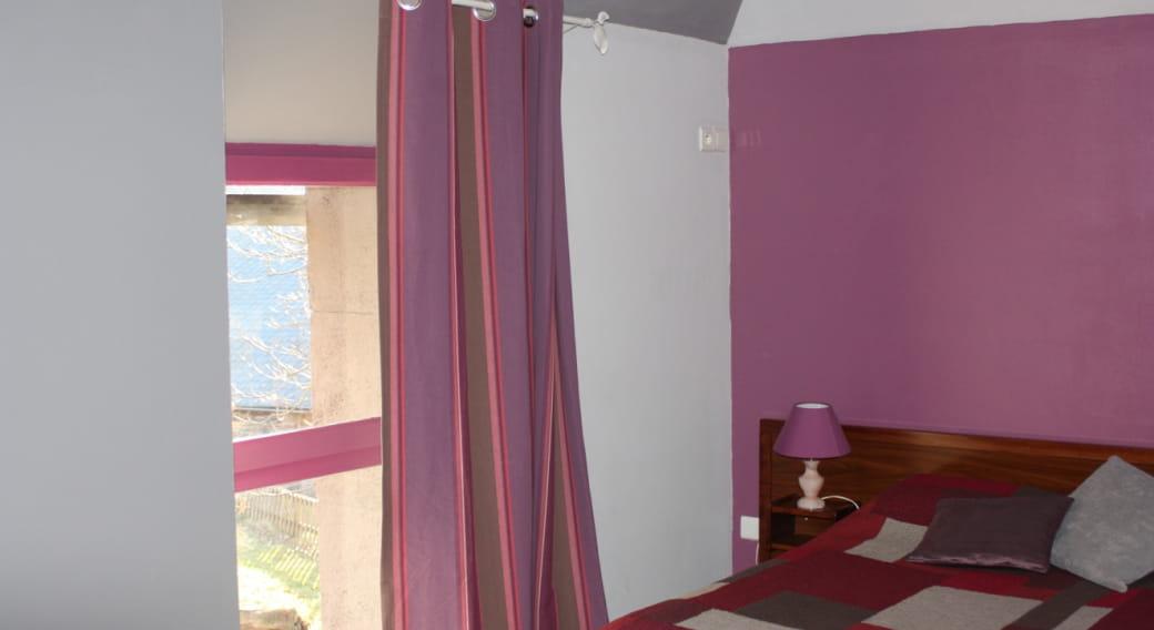 Maison Gite des Milans Saint Bonnet Près Orcival chambre