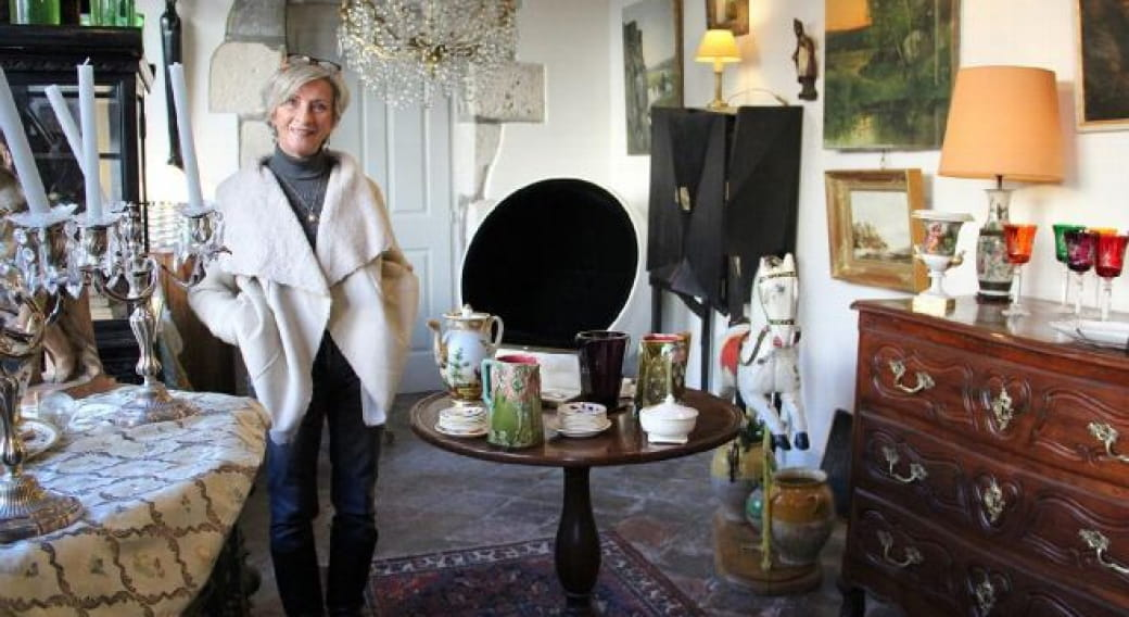 Antiquaire-brocanteur - Mme Myriam Delclaux