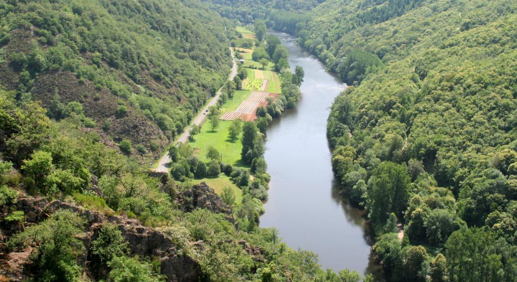 Vallée du Lot en Châtaigneraie
