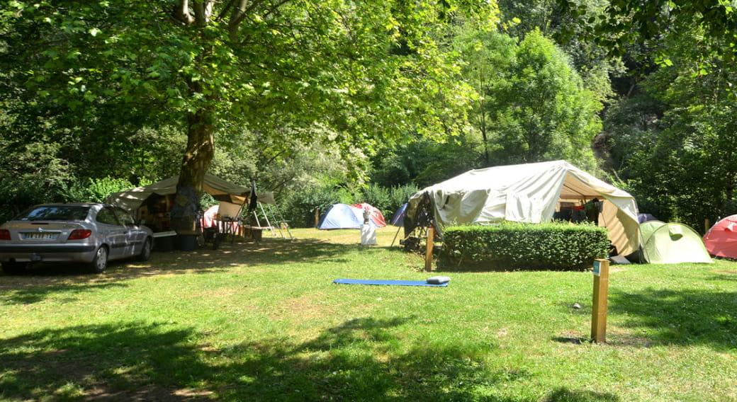 Camping de l'Ombrade