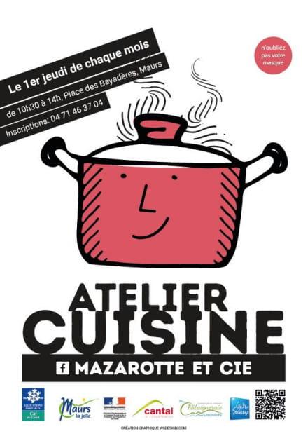 Atelier Cuisine à thème à Maurs