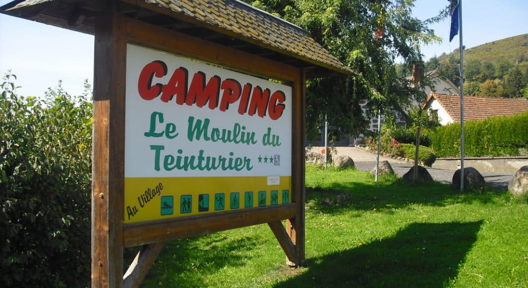 Camping Le Moulin du Teinturier