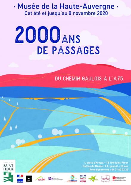 Exposition  « Deux mille ans de passage. Du chemin gaulois à l'A75 »