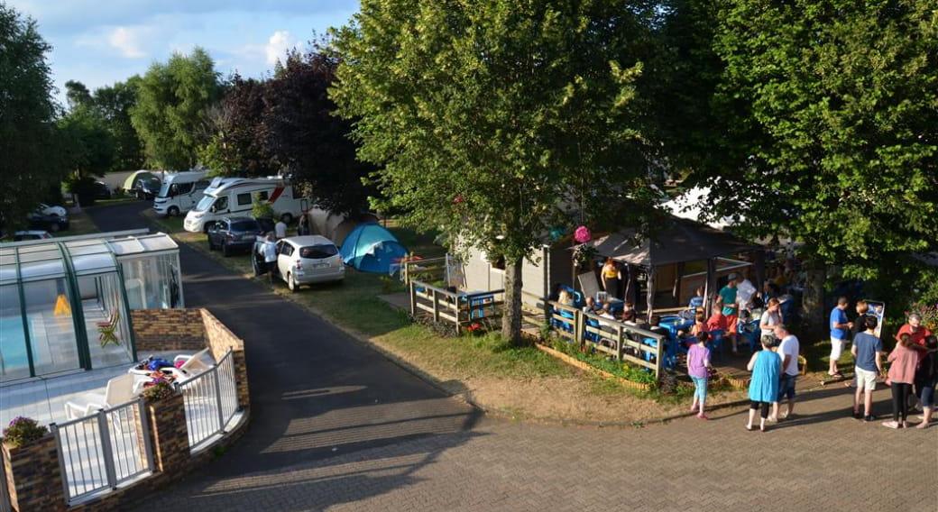 Aire de service du camping des dômes