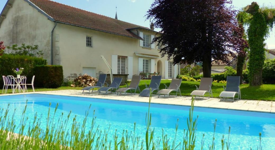 Gîte 'La Villa du Mayet' - à LE MAYET-DE-MONTAGNE dans l'Allier en Auvergne