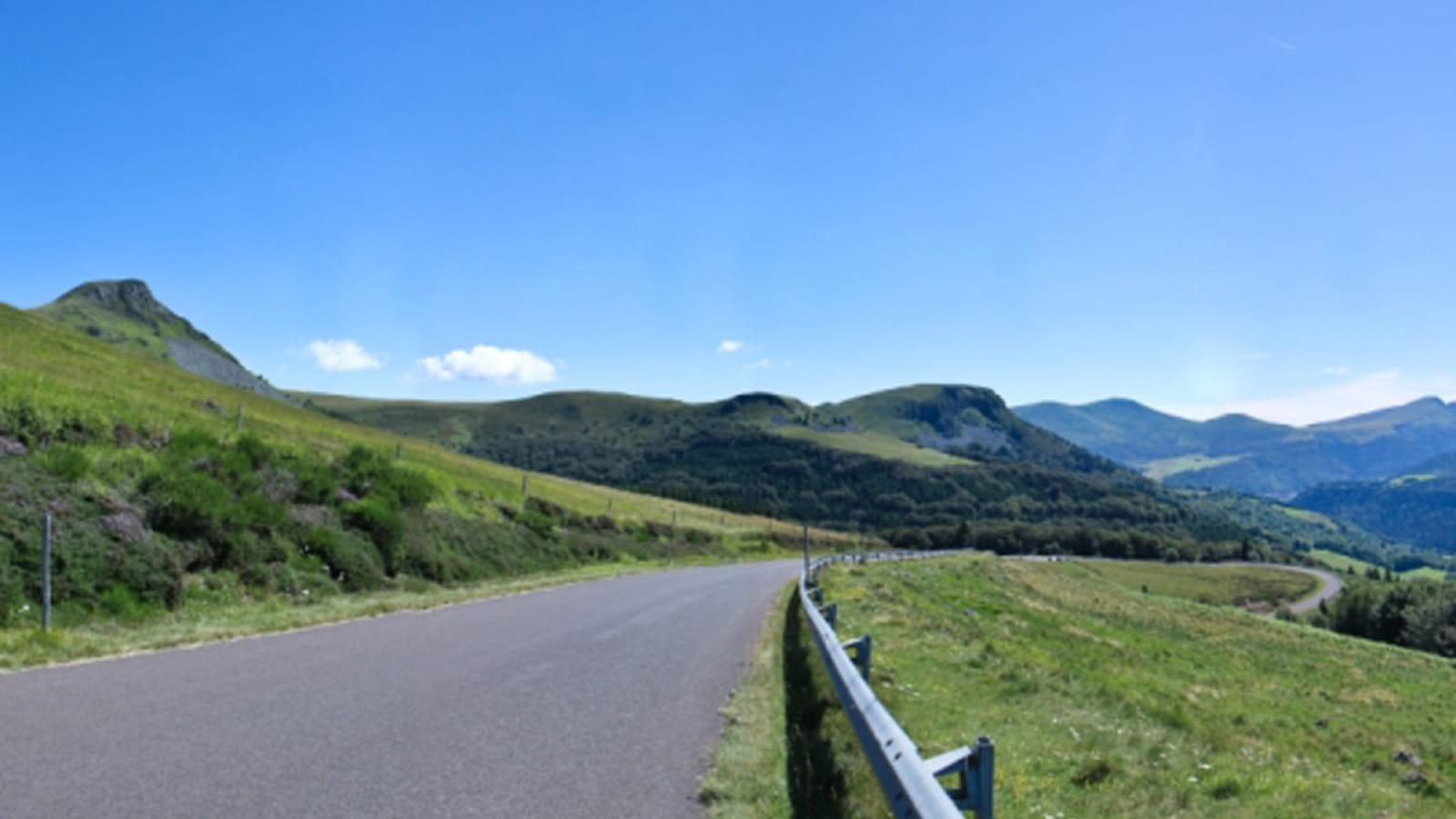 Cyclotourisme : montée de La Banne d'Ordanche