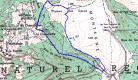 Sentier balisé raquettes :  Le gros Rocher, Col des Supeyres