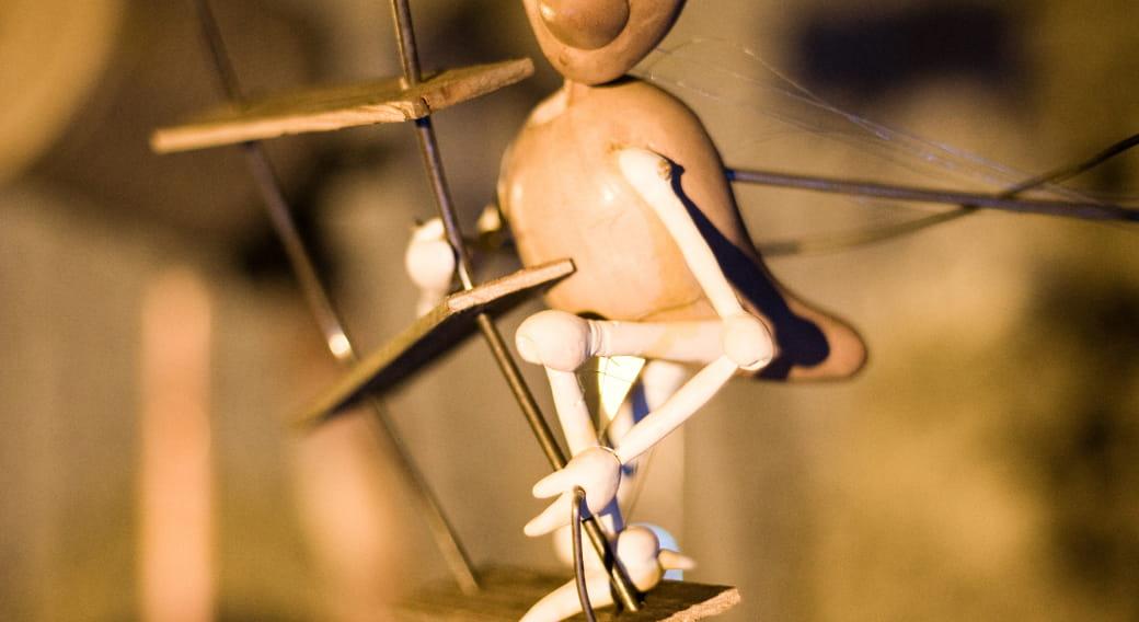 Spectacle de marionnettes 'Temps' à Pignols