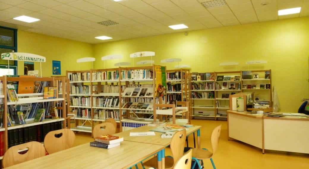 Bibliothèque Mazaye intérieur