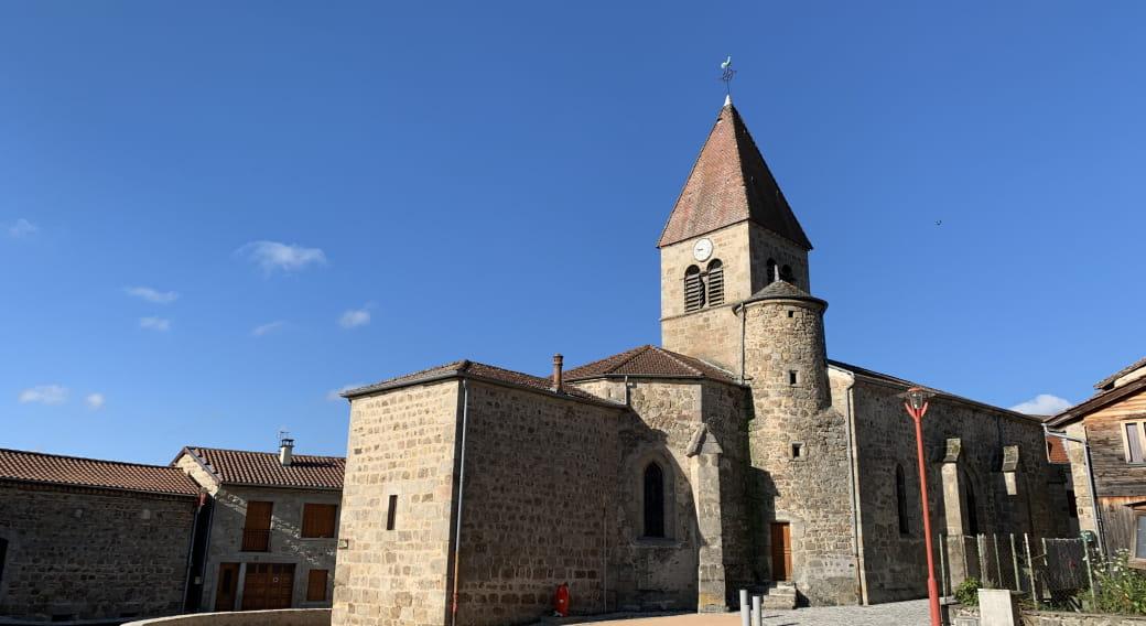Eglise parvis