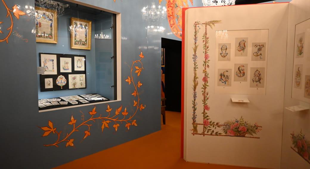 Exposition Papiers, plumes et pinceaux