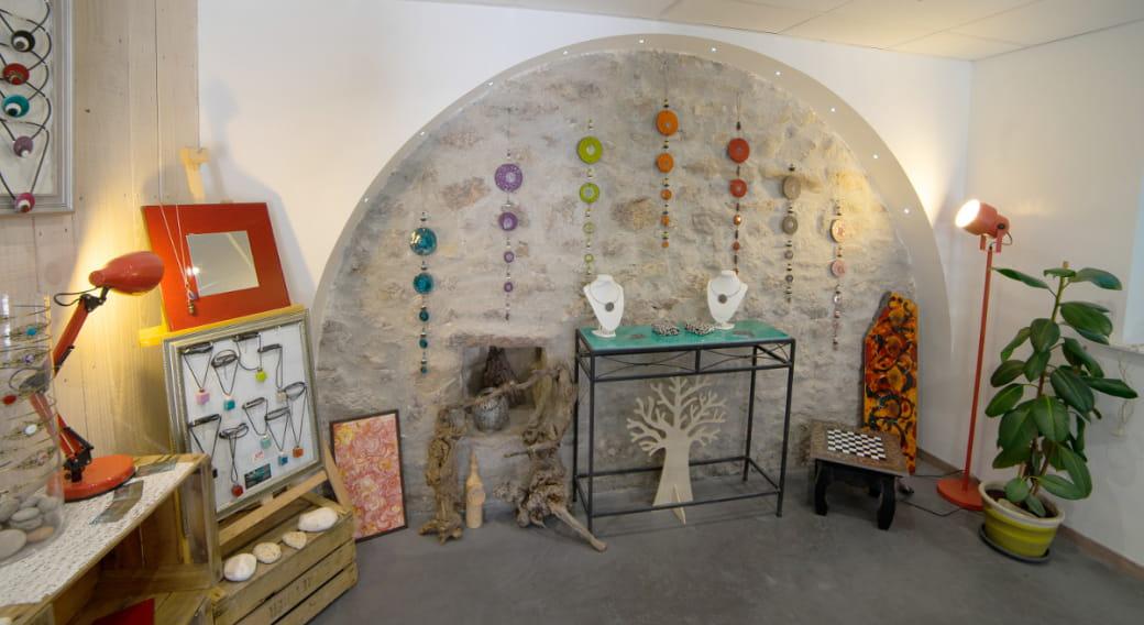 Atelier L'île ô pierres - Montpeyroux