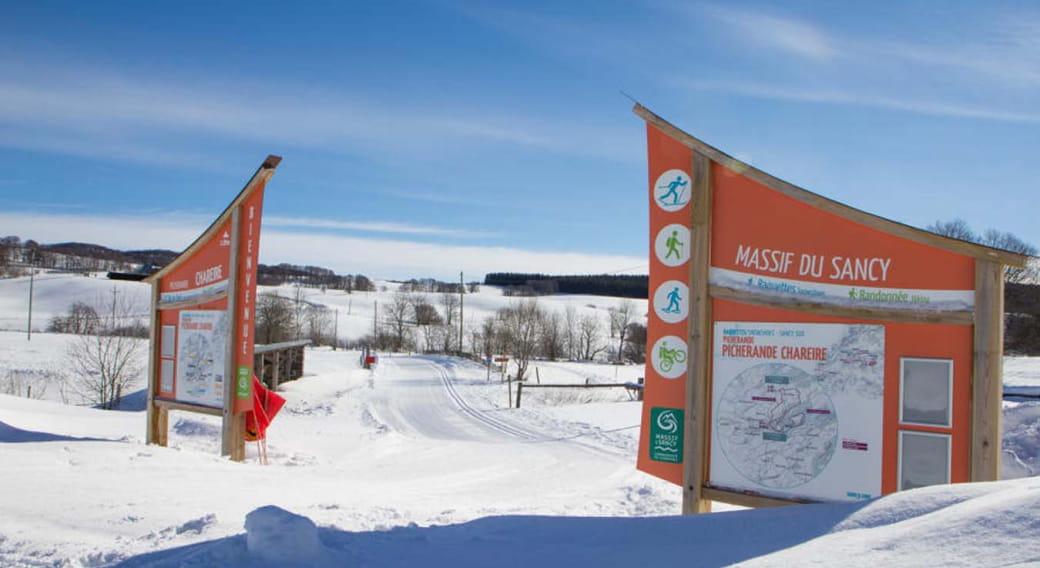 Ski de fond - Secteur Picherande Chareire