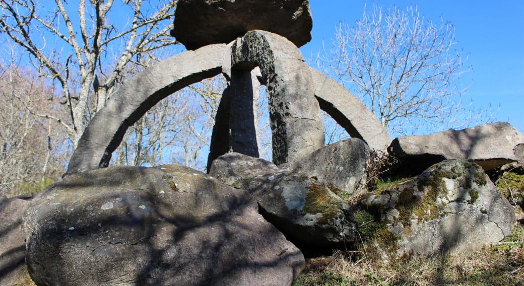 Chemin Fais'Art - Sculptures en pierre de Volvic