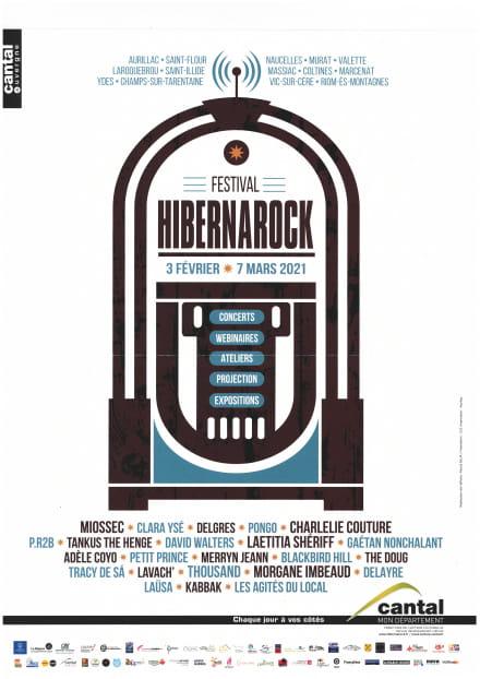 Festival Hibernarock - Miossec - REPORTE au 10 nov. 2021!