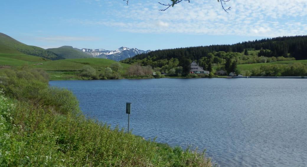 Site de pêche du lac de Guéry au Mont-Dore