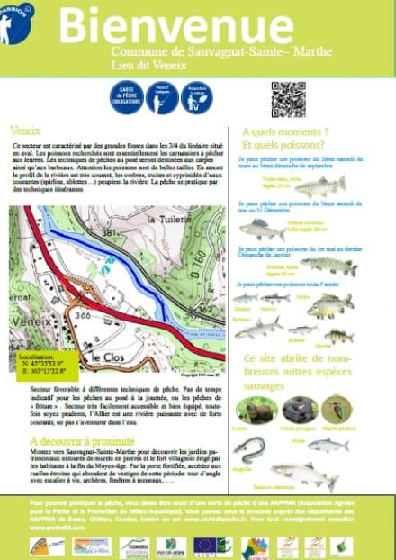 Parcours pêche passion : Lieu-dit Veneix